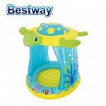 """Детский надувной бассейн Bestway """"Черепашка"""" / 109 х 96 х 104 см, 26 л"""