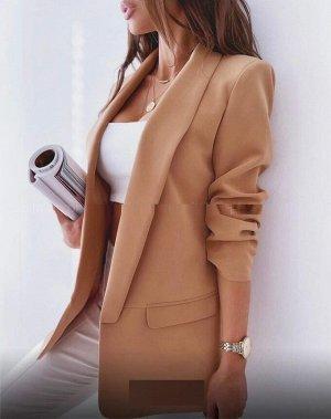 Пиджак Цвет кирпичный