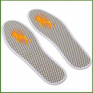 Турмалиновые самонагревающиеся стельки антибактериальные