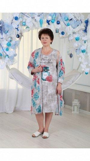 Комплект женский халат+сорочка Vestidos