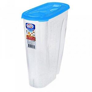 """Контейнер для сыпучих продуктов пластмассовый """"Лайт"""" 3л, 22х"""