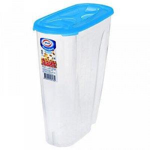 """Контейнер для сыпучих продуктов пластмассовый """"Лайт"""" 5л, 25х"""