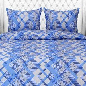 """""""Ниагара, синий"""" Постельное белье, комплект 2-х спальный, 4"""