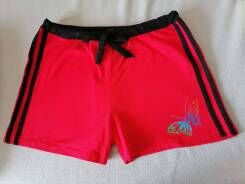 Легкие летние трикотажные шорты женские.р46-50