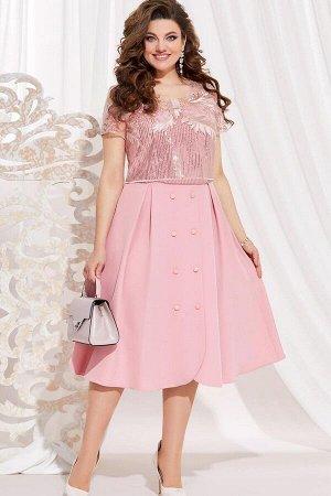 Платье Vittoria Queen 11133/3 розовый
