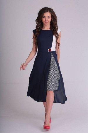 Платье SandyNa 13976 синий