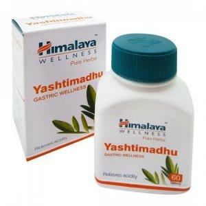 "Yashtimadhu Himalaya ""Яштимадху"" противовспалительно средство 60 таб."