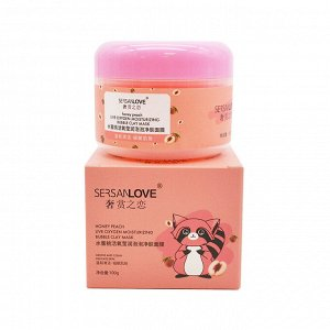 Пузырьковая маска с экстрактом Персика SersanLove Peach Live Oxygen Skin Cleanser, 100 гр