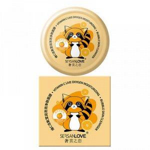 Пузырьковая маска с экстрактом Апельсина SersanLove Orange Live Oxygen Moisturizing Bubble Clay Mask 100гр