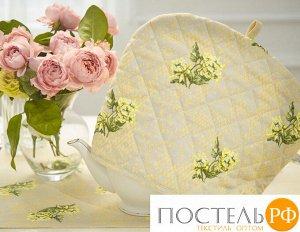 Ччайн-Глиц-30-25 Чехол на чайник «Глициния» рогожка наб. 30х25 см