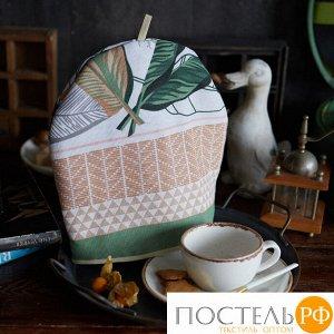 "Грелка на чайник ""Доляна"" Modern kitchen 28х28см, МИКС,100% хл,164г/м2 4682794"