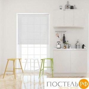 Рулонная штора Вэил Серый 180x175