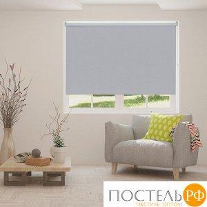 Рулонная штора Блэкаут Сканди Серый 180x175