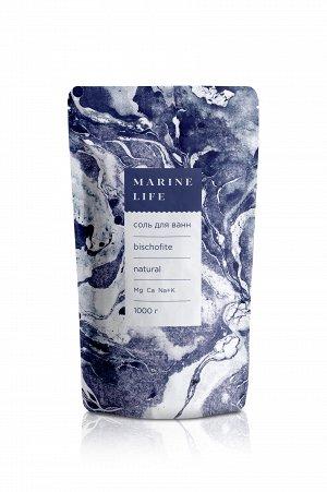 Соль для ванн Marine Life - Bischofite (Соль магниевая - бишифит),1кг