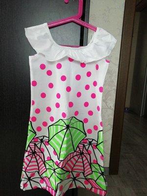 Платье р. 8 (128 см) в полцены