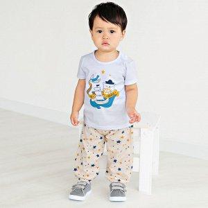 Комплект ДМ футболка + брюки 'Солнышко'