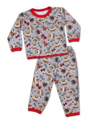 Детская пижама для девочек, штаны+кофта.