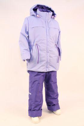 Сиреневый Костюм для активных прогулок на время умеренных холодов или для регионов, где зимние температуры не опускаются ниже 15 – 20 градусов. По этому рекомендуемая температура эксплуатации от +5 до