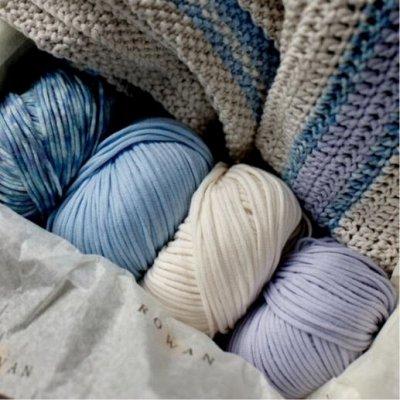Щенки рулят! Детский текстиль с любимыми героями — Пряжа для вязания (хлопок, шерсть, акрил)