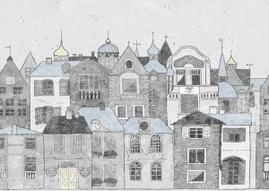 Фотообои Городская зарисовка