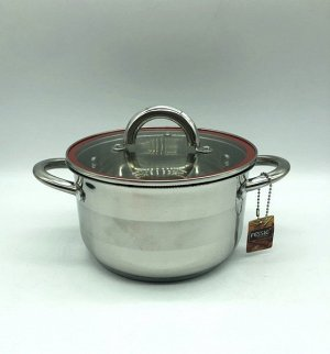 Кастрюля из нержавеющей стали с крышкой FESSLE диаметр 18 см (2,7 л)
