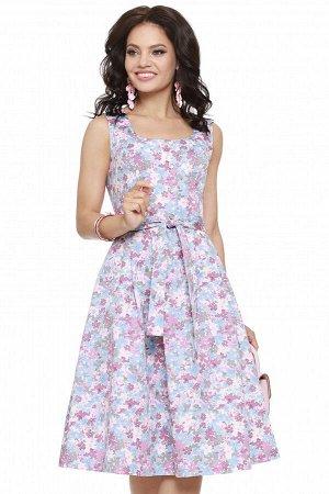 Платье Вальс цветов, сирень