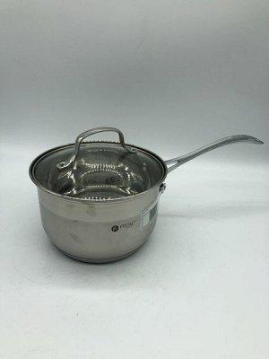 Ковш из нержавеющей стали с крышкой FESSLE d=16 см (2.0л)