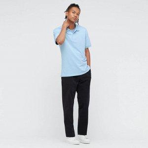 Мужская рубашка поло, светло голубой