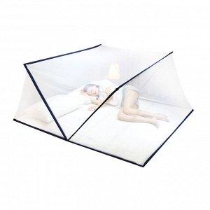 Балдахин - антимоскитная сетка для кровати / 190 x 105 x 85 см