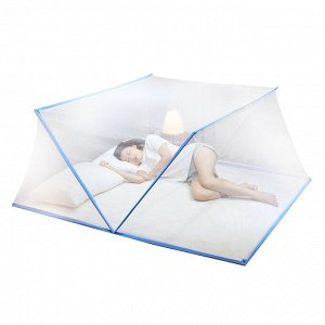 Балдахин - антимоскитная сетка для кровати / 190 x 160 x 85 см