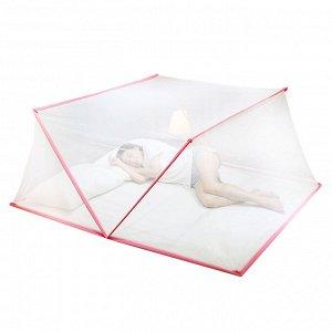 Балдахин - антимоскитная сетка для кровати / 190 x 130 x 85 см