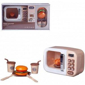 Игровой набор Junfa Микроволновая печь серия Гурман на батарейках390