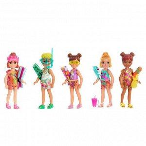 Кукла Mattel Barbie Челси Песок и Солнце в непрозрачной упаковке с сюрпризами4