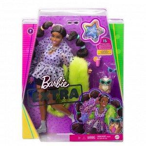 Кукла Mattel Barbie Экстра с переплетенными резинками хвостиками52