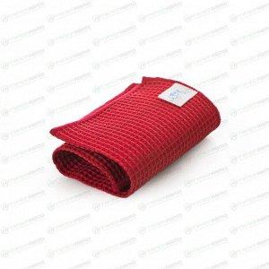 Салфетка Kolibriya Nimbi-50, вафельная, для стекол, 300x300мм, красная, арт. Nim-0510.red