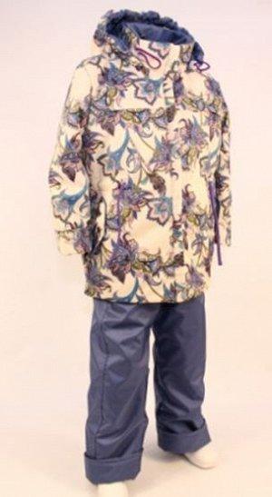 Гжель В прохладную погоду весной или осенью наиболее подходящим для активных прогулок на свежем воздухе является комплект , состоящий из куртки и брюк-полукомбинезона из плащевой ткани. Куртка и брюки