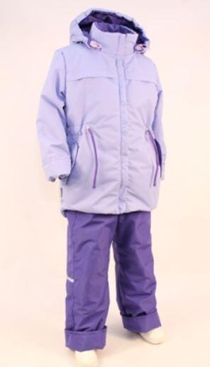 Сиреневый В прохладную погоду весной или осенью наиболее подходящим для активных прогулок на свежем воздухе является комплект , состоящий из куртки и брюк-полукомбинезона из плащевой ткани. Куртка и б