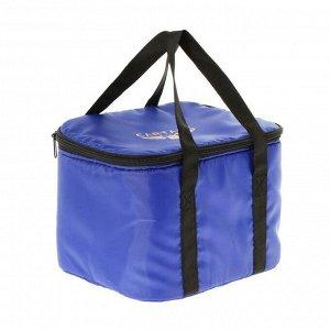 Термосумка Cartage Т-08, синяя, 10 литров, 26х19х19 см