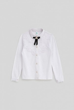Блузка детская для девочек Tylpan белый
