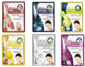 Набор косметических масок для лица Mitomo 25 мл - 30 шт