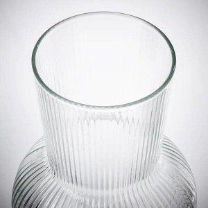 PÅDRAG ПОДРАГ Ваза, прозрачное стекло17 см
