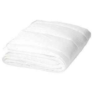 LEN ЛЕН Одеяло для детской кроватки, белый110x125 см