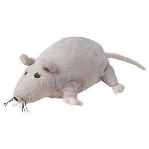 GOSIG RÅTTA ГОСИГ РОТТА Мягкая игрушка, серый/бежевый23 см