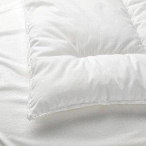 LEN ЛЕН Подушка для детской кроватки, белый35x55 см