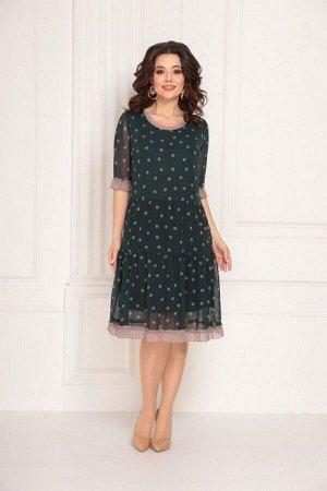 Платье Solomeya Lux 692 зеленый