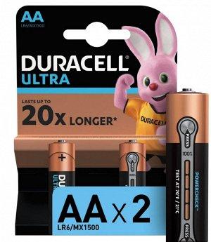 DURACELL UltraPower Батарейки AA 2шт
