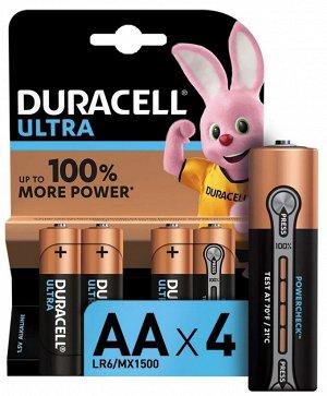 DURACELL UltraPower Батарейки AA 4шт