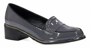 Туфли Марко взрослое,  цвет серый, материал кожа иск