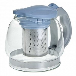 Заварочный чайник 850 мл с фильтром из нержавеющей стали AK-5527/4 голубой