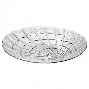Тарелка из закаленного стекла AТЛАНТИС 6 штук 240 мм 10236SLB